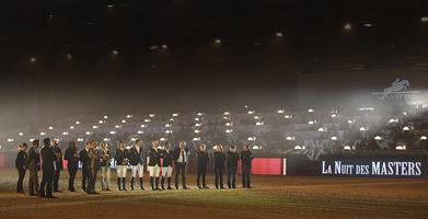 Champions Nuit des Masters 2014