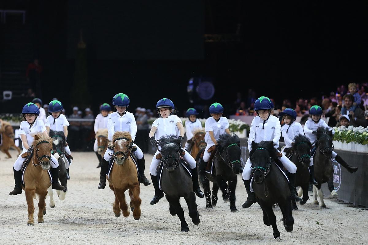 Les graines de champions sur la Pony Race !