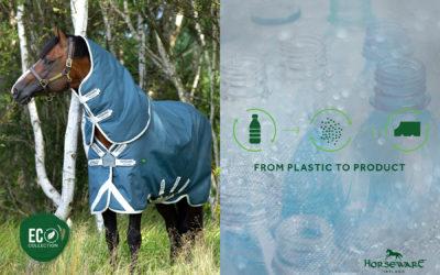 Une couverture fabriquée à partir de bouteilles plastiques recyclées ? Horseware l'a fait !